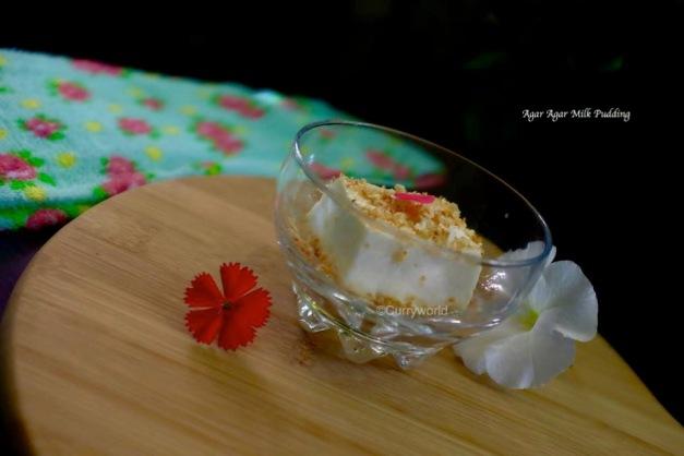 china grass milk pudding